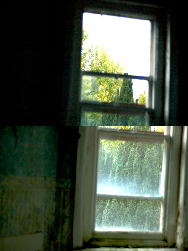nikon d70s - ISO 640 - f1.8 - exposures: top image - 1/3200sec. bottom image - 1/400sec.