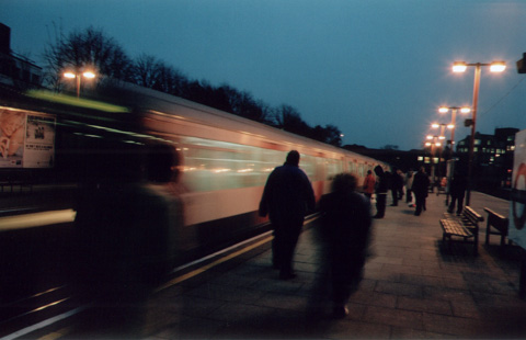 movement || pentax mx | harrow on-the-hill station | f2.8 | 1/4s | ISO 200