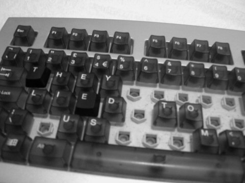 old keyboard. camera - nikon coolpix 5700